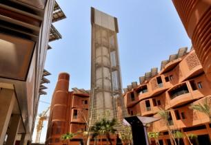 Masdar tour a vent
