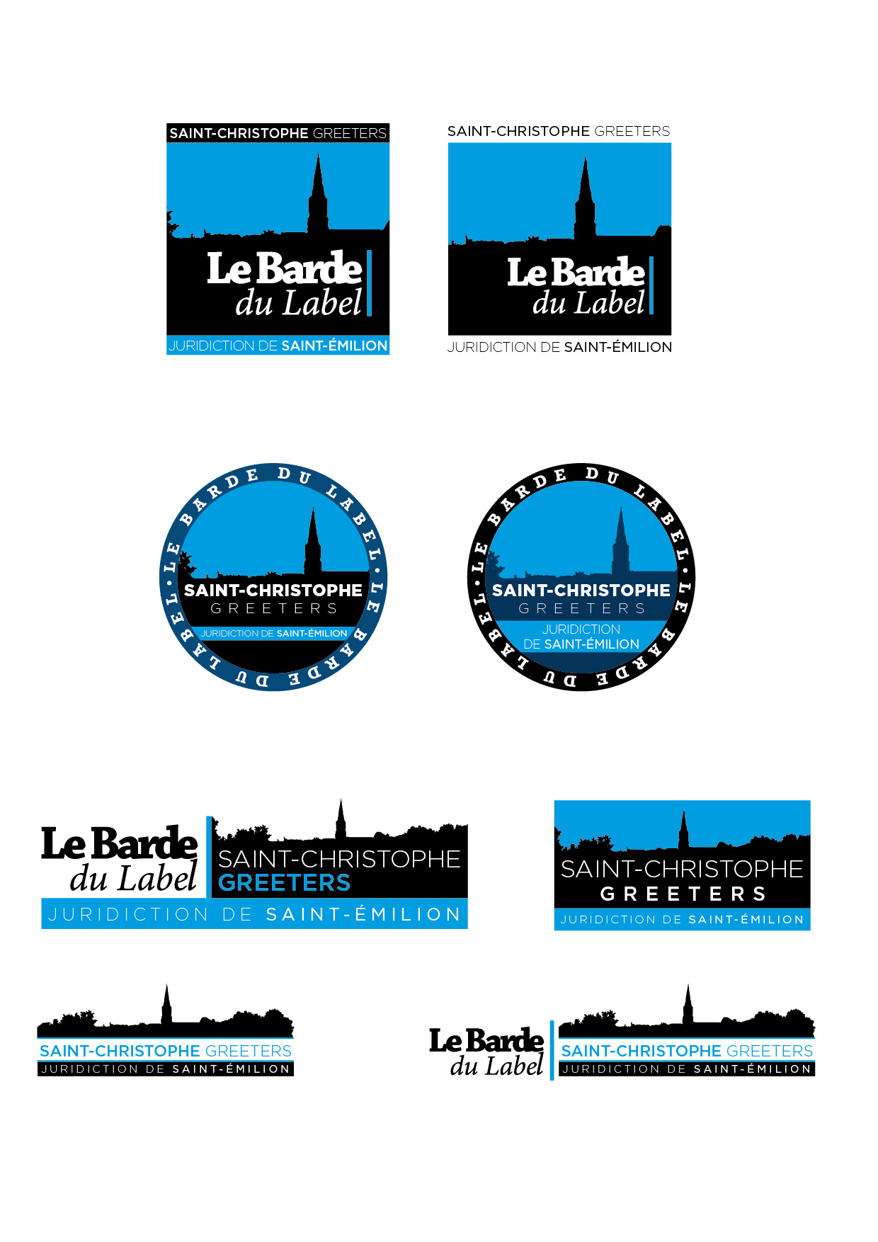 Propositions de logo greeters